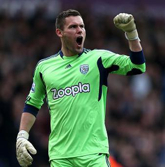 Ben Foster has been sidelined by hernia problems since early November but has returned to training