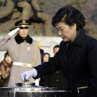 South Korean president-elect Park Geun-hye (AP/Lee Jin-man)