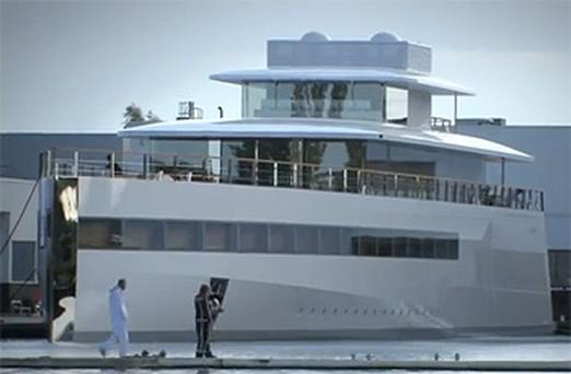 The late Steve Jobs's luxury yacht