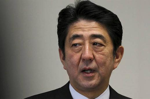 Shinzo Abe, Japan's incoming prime minister and the leader of Liberal Democratic Party (LDP). Photo: Reuters