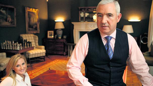 END OF A GOLDEN ERA: Sean Dunne and his wife Gayle Killilea are being pursued by Nama over expensive property investments in Switzerland and the US