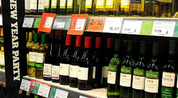Shoppers stocked up on booze and cigarettes before Budget