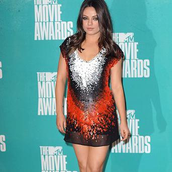 Mila Kunis is reportedly spending Christmas with Ashton Kutcher's family
