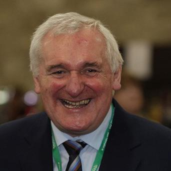 Bertie Ahern's former constituency office in Dublin has been handed over to Fianna Fail