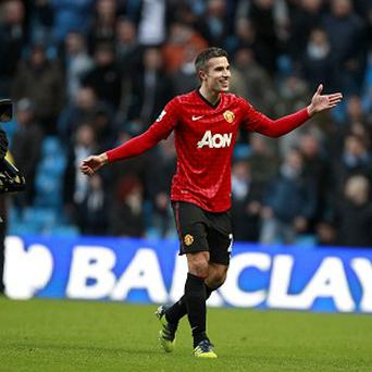 Robin van Persie, pictured, has been hailed by Sir Alex Ferguson