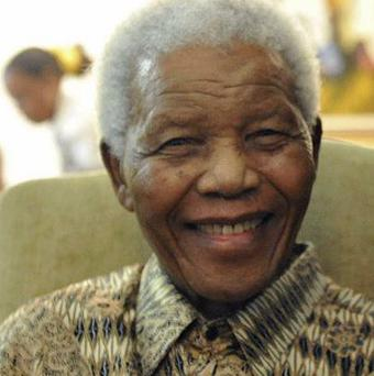 Nelson Mandela has spent Christmas day in hospital in South Africa (AP)