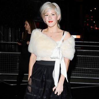 Ellie Goulding said she found fame daunting