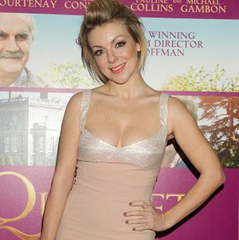 Sheridan Smith is so 'in awe' of Dustin Hoffman that it makes her cry