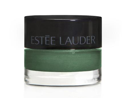 Estee Lauder Pure Color Stay-On Shadow Paint in Extreme Emerald.