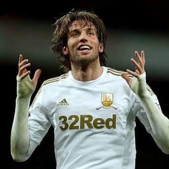 Michu is an injury concern for Swansea