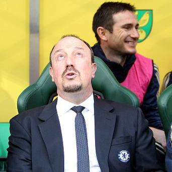 Chelsea interim boss Rafael Benitez, pictured, was full of praise for goal-scorer Juan Mata