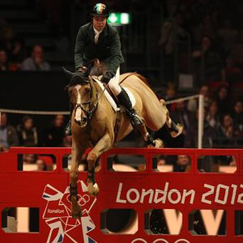 Cian O'Connor is in fine form at Olympia