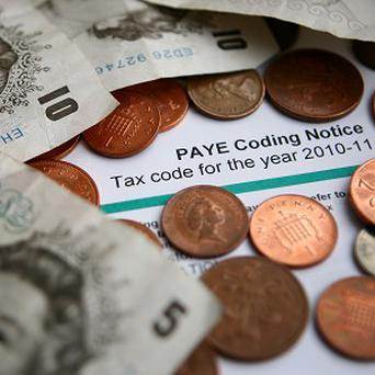 Hundreds of people went online on Christmas Day to sort out their tax returns, it has been revealed