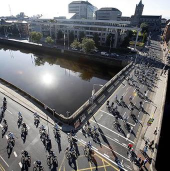 Hiigh-ranking European Council officials can use rental bikes for free in Dublin during Ireland's six-month EU presidency