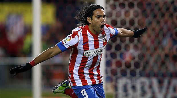 Wanted man: Radamel Falcao is a striker very much in demand. Photo: Reuters