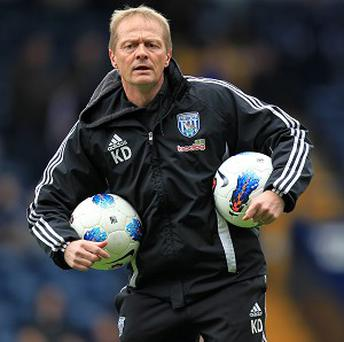 Keith Downing, pictured, has praised the job done by West Brom boss Steve Clarke