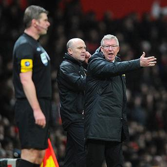 Sir Alex Ferguson, right, has criticised Alan Pardew in the aftermath of Manchester United's victory