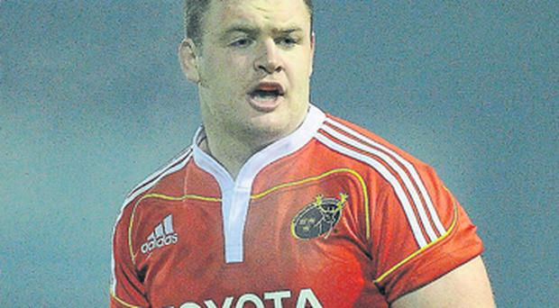 Dave Kilcoyne will be hoping to make a big impact for Munster at Thomond Park