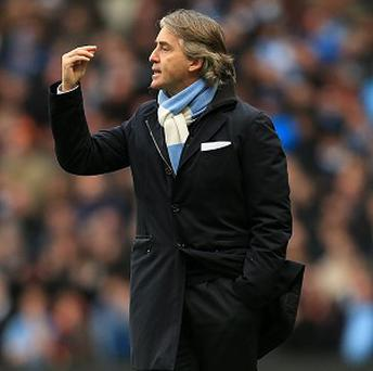 Roberto Mancini thought there was a foul in the build-up to Sunderland's winner