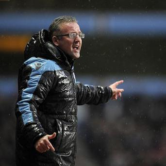Paul Lambert is not worried despite Aston Villa's barren run
