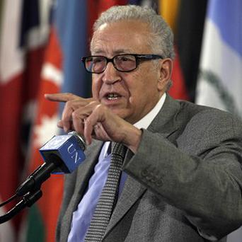 UN-Arab League envoy Lakhdar Brahimi says the situation in Syria is deteriorating'(AP)