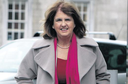 Joan Burton: says auto-enrolment scheme will make it easier for more private sector workers to save for a pension