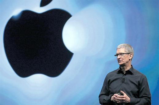 Mea culpa: Apple CEO Tim Cook Photo: Getty Images