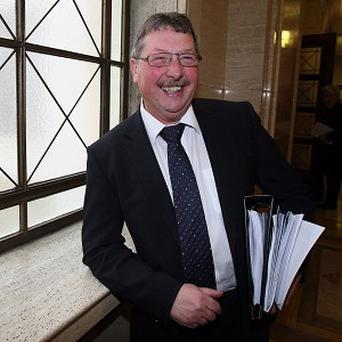 Sammy Wilson indicated the DUP would consider an expanded role for nationalists during 1982 talks with the Northern Ireland Office