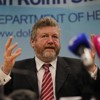 Taoiseach Enda Kenny said he believes 'very strongly' in Health Minister James Reilly