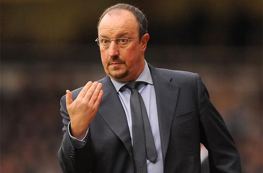 Rafael Benitez. Photo: PA