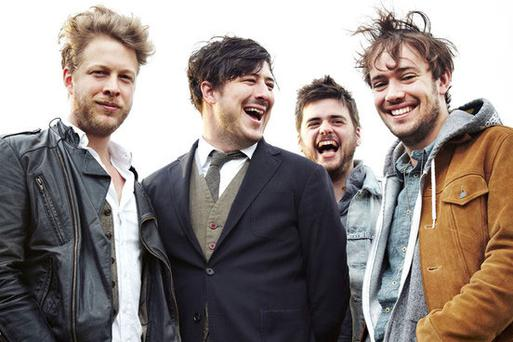 Mumford and Sons are currently number one with their album Babel