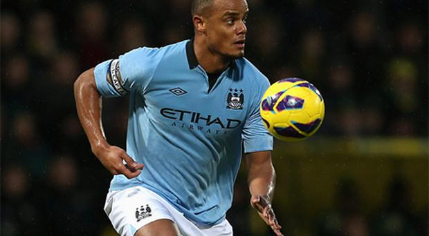 Vincent Kompany. Photo: Getty Images