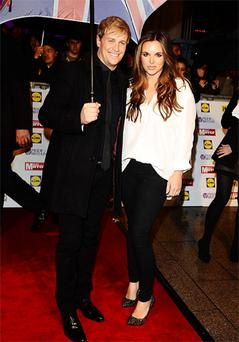 Kian and wife Jodi Albert at a recent event in London. Photo: PA