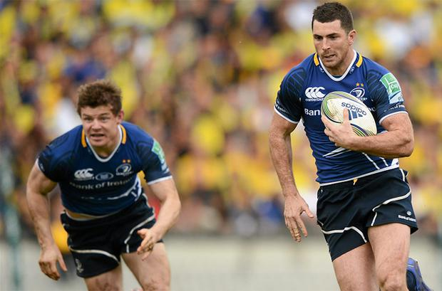 Back for Leinster: Brian O'Driscoll and Rob Kearney. Photo: Sportsfile
