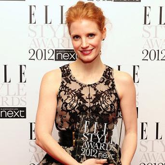 Jessica Chastain says she makes it a rule not to date fellow actors