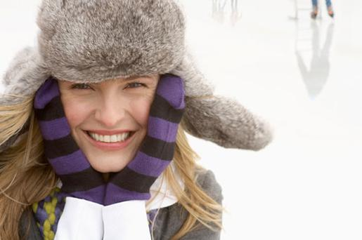 Central heating inside and freezing temperatures outside can ravage the skin