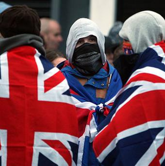 Loyalists across Northern Ireland have been protesting since councillors in Belfast voted to limit the number of days they fly the Union Flag