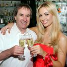 Rosanna with superstar father Chris de Burgh