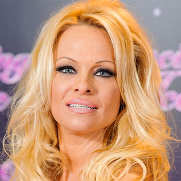 Pamela Anderson at a photocall for the launch of the new series of 'Dancing on Ice'. Photo: PA