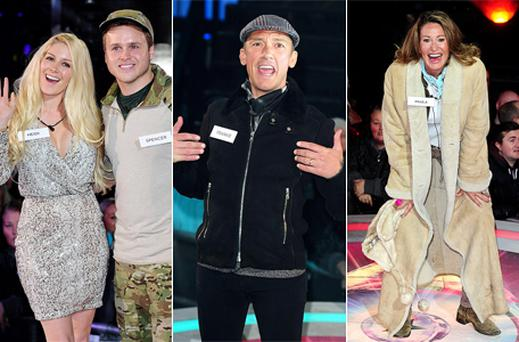 Heidi Montag, Spencer Pratt, Frankie Dettori and Paula Hamilton who will be the first housemates up for eviction from Celebrity Big Brother. Photo: PA