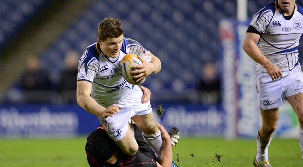 Brian O'Driscoll may have returned just in time to help Leinster save their season after surviving the full 80 minutes against Edinburgh. Photo: Sportsfile