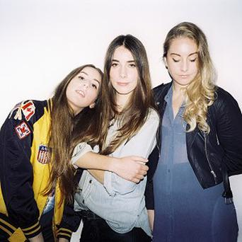 Haim have been named the winners of the BBC Sound of 2013