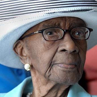 Mamie Rearden of Edgefield, South Carolina, has died aged 114 (AP/The Augusta Chronicle, Michael Holahan)