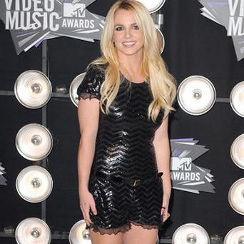 Britney Spears has been working hard on her new album