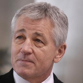 Potential new US Defence Secretary Chuck Hagel (AP)