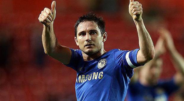 Old Trafford bound? Manchester United could sign Frank Lampard on a free transfer at the end of the season. Photo: Getty Images