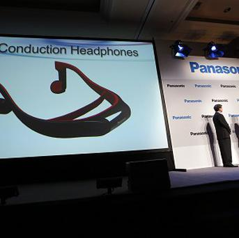 Panasonic unveiled new headphones during the Consumer Electronics Show in Las Vegas (AP)