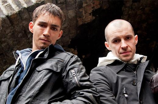 Robert Sheehan and Tom Vaughan Lawlor