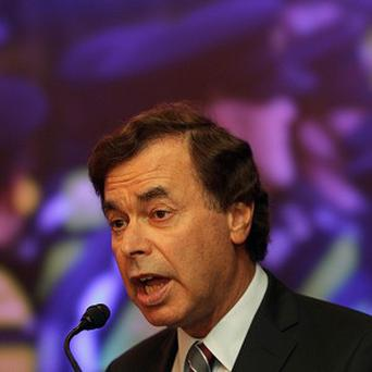 Alan Shatter has rubbished suggestions that Garda numbers will be cut by 1,000