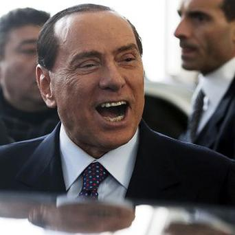 Silvio Berlusconi is upset over his divorce payments (AP)
